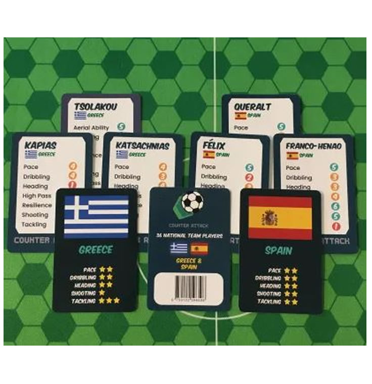 Counter Attack : National Team Cards : Greece & Spain