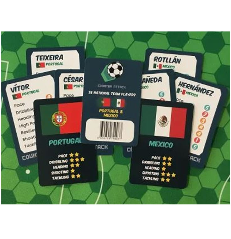 Counter Attack : National Team Cards : Portugal & Mexico