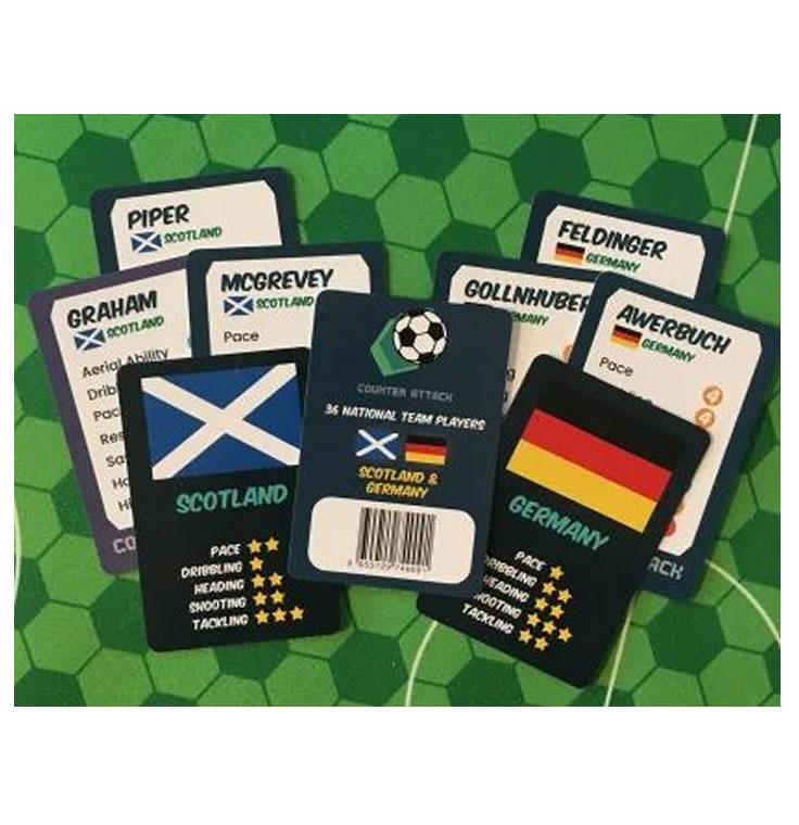 Counter Attack : National Team Cards : Scotland & Germany