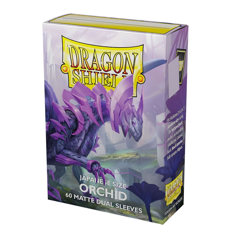 Dragon Shield : Japanese Size : DUAL : Orchid 'Emme' : (60)