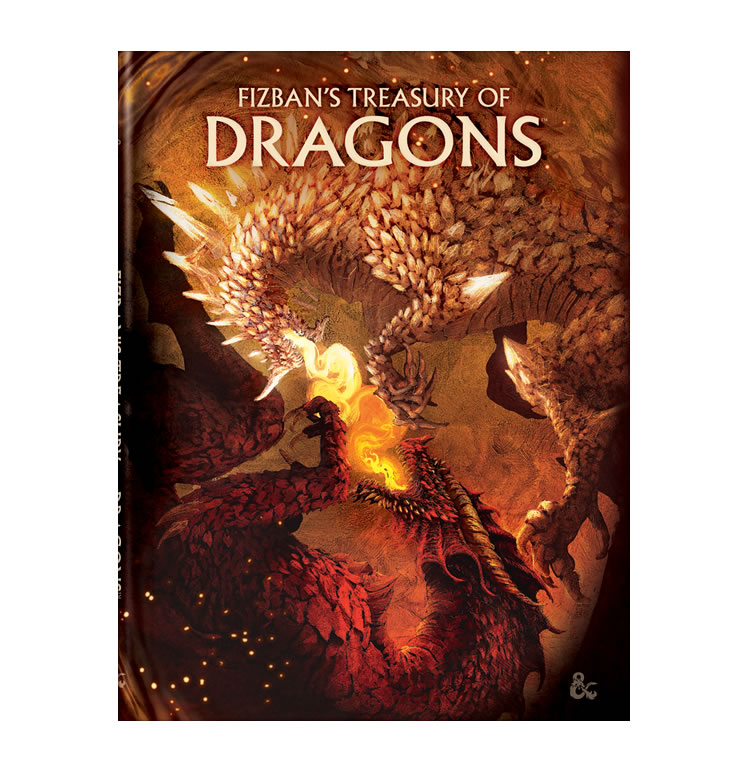 Dungeons & Dragons : Fizban's Treasury of Dragons (Limited Cover)