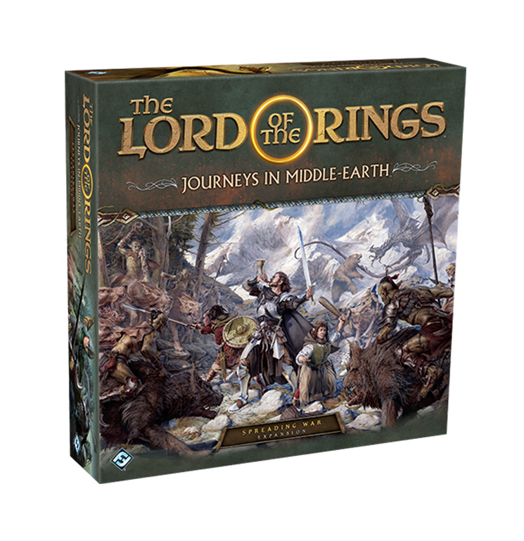 Spreading War: Journeys in Middle-Earth