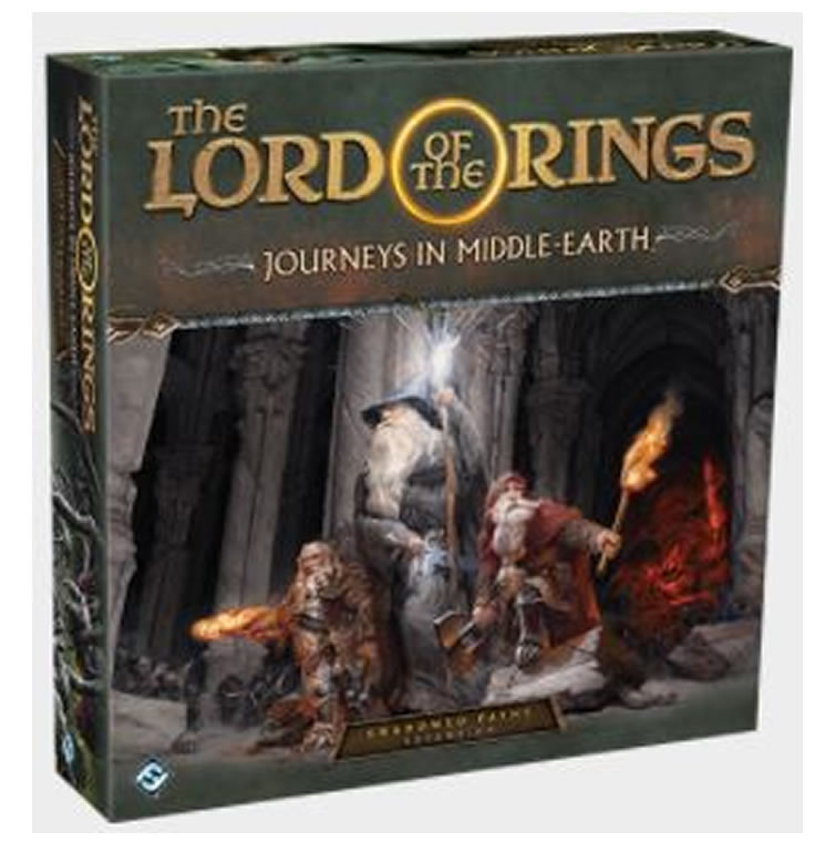 Lord of the Rings : Journeys in Middle Earth : Shadowed Paths