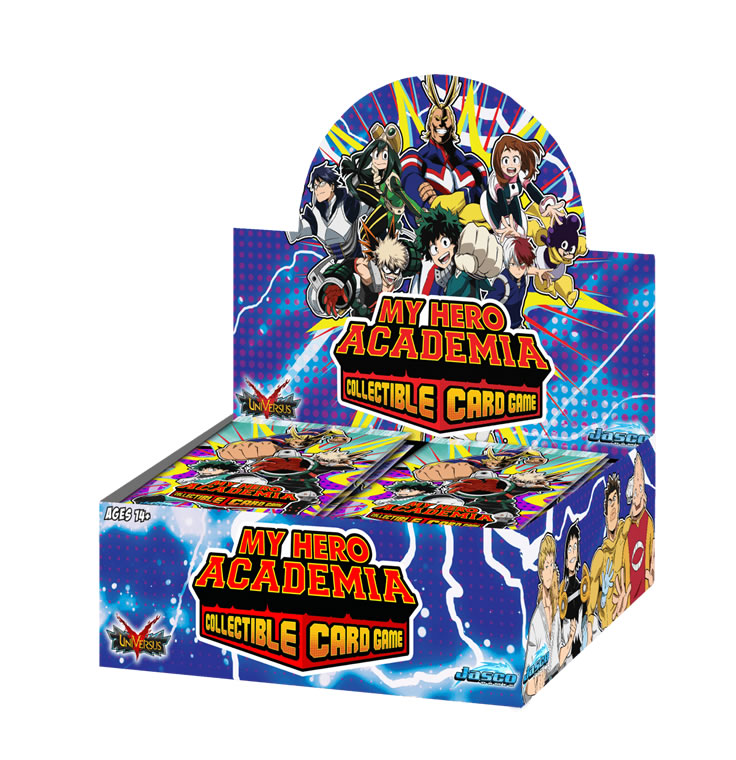 My Hero Academia CCG : Series One : Booster Display
