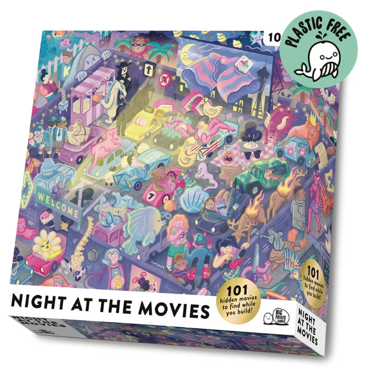 Night at the Movies Puzzle