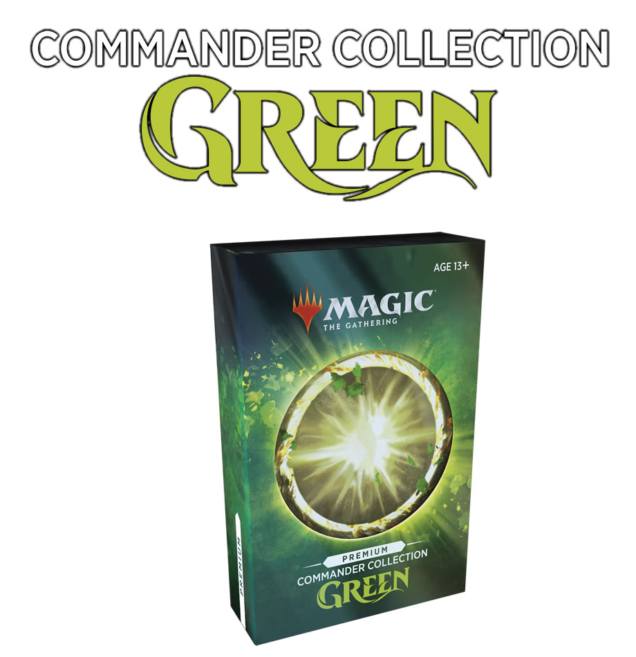 Commander Collection : Green : Premium Edition
