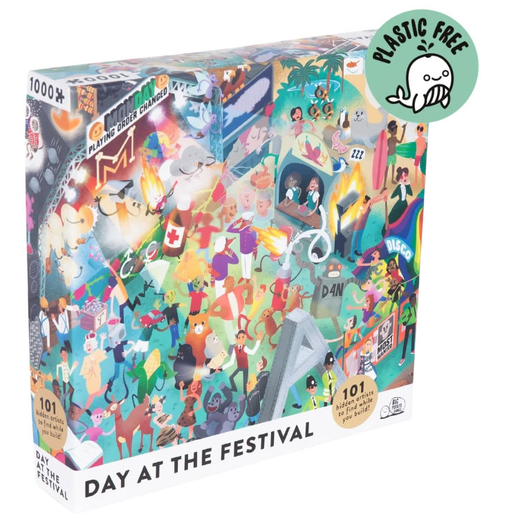 Day at the Festival Puzzle