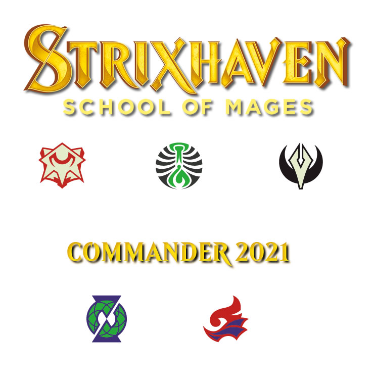 Strixhaven : Commander 2021 : Set of Five