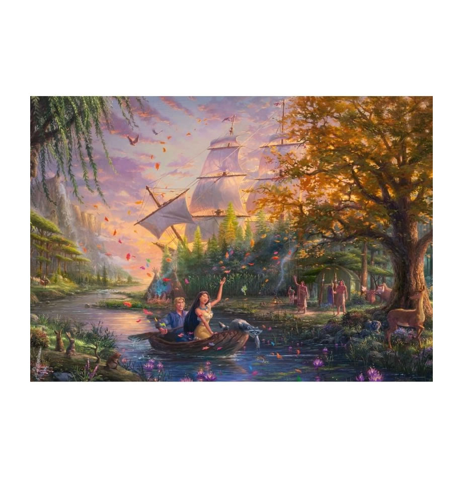 Thomas Kinkade: Disney Pocahontas (1000pc)
