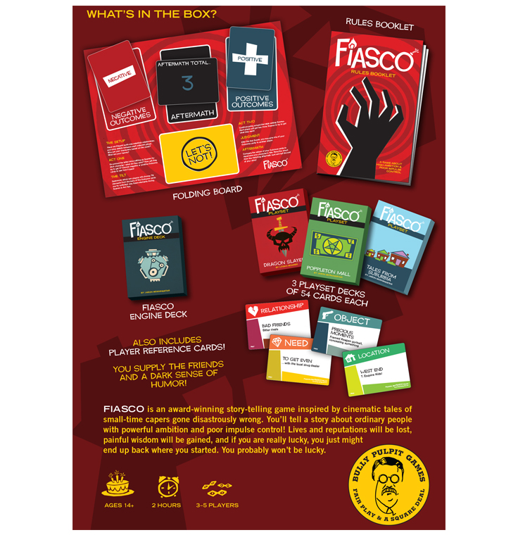 Fiasco RPG (2nd Edition)