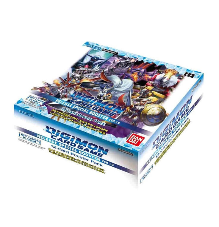 Digimon TCG : Special Release Booster Box v1.0 [Super Pre-Sale!]
