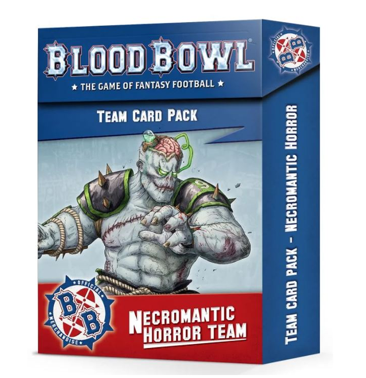 Blood Bowl : Necromantic Horror Team Card Pack