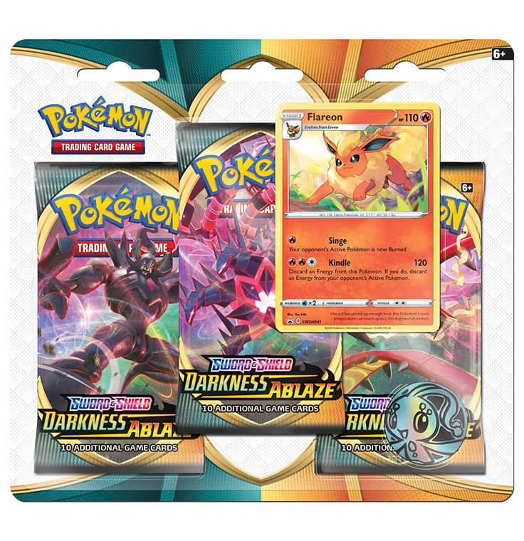 Darkness Ablaze : 3-Pack Blister