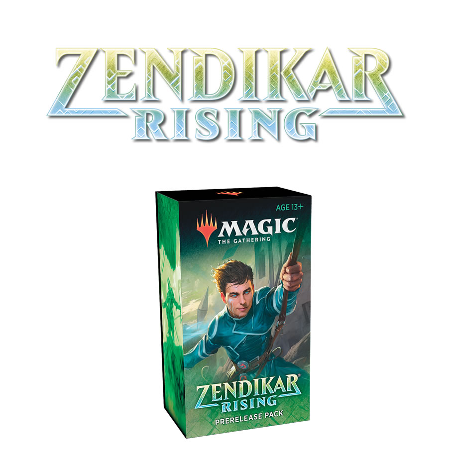 Zendikar Rising : Prerelease @ Home